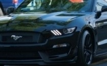 Ford Mustang na torze.