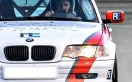 Jazda BMW 330i E46 Club Sport