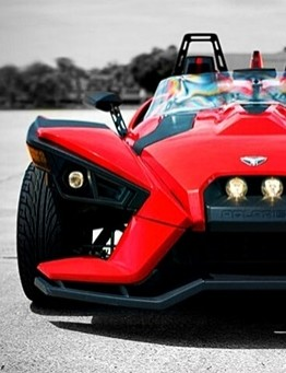 Jazda Polaris Slingshot SL jako pasażer – wiele lokalizacji