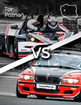 Jazda KTM X-BOW vs BMW M Power – Tor Poznań