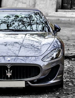 Jazda Maserati GranTurismo MC Stradale jako pasażer – wiele lokalizacji