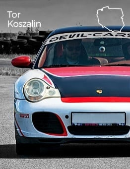 Jazda Porsche 911 Carrera jako pasażer – Tor Koszalin