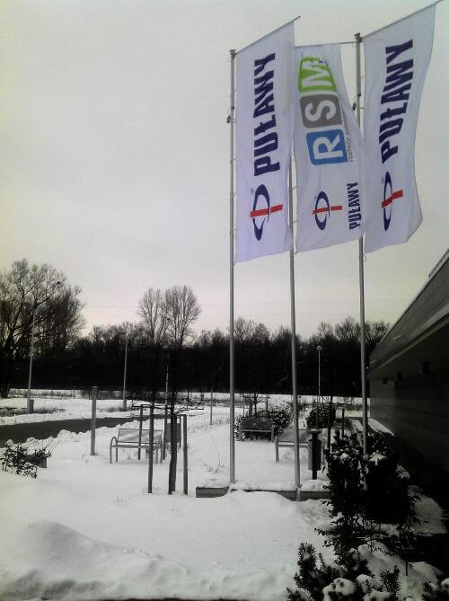 Zima przed biurem Prezent Marzeń