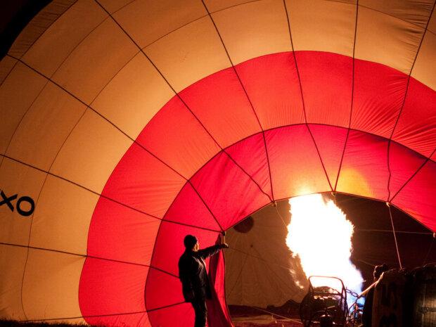 Baloon Night glow