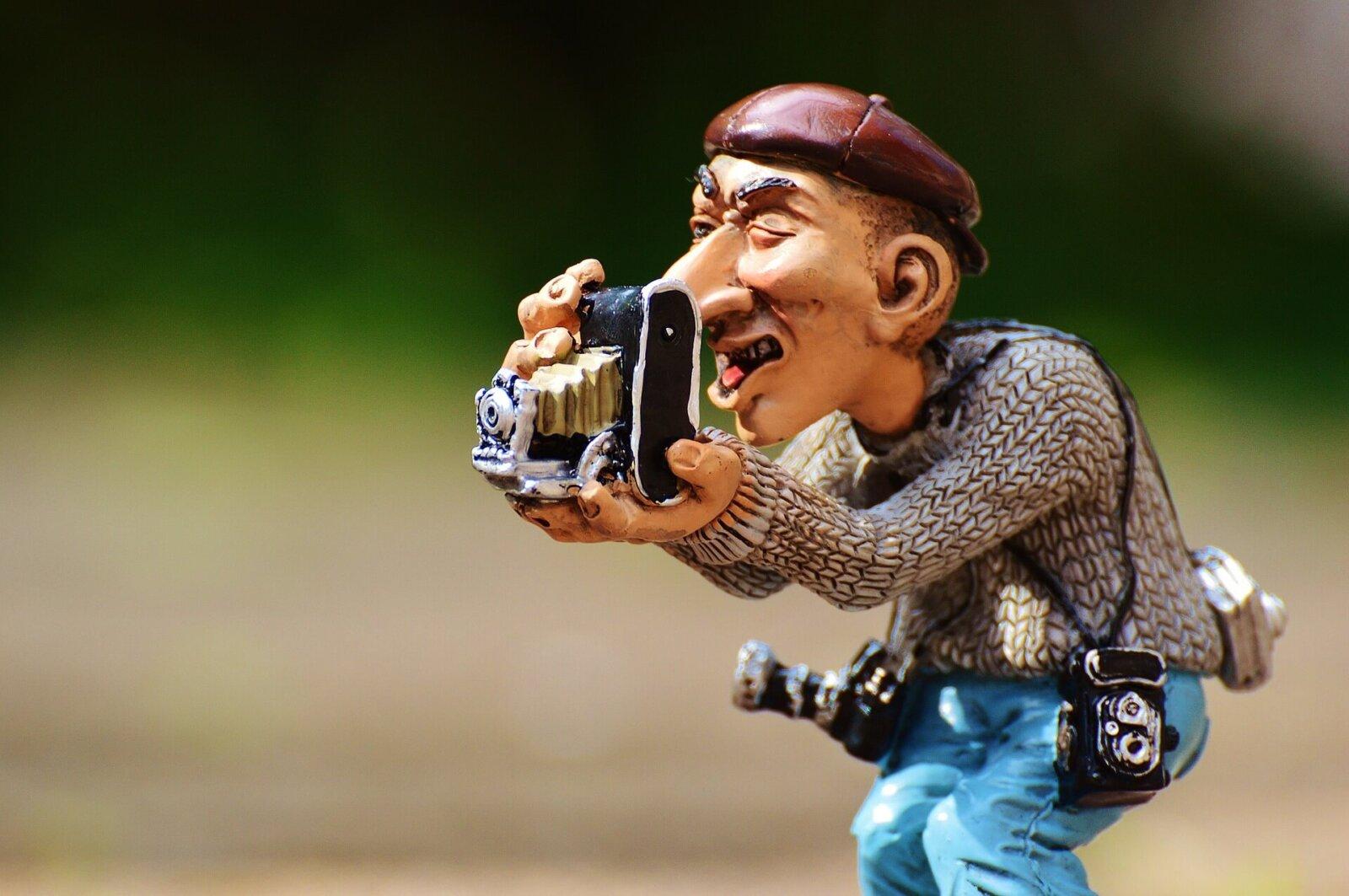 fotograf figurka