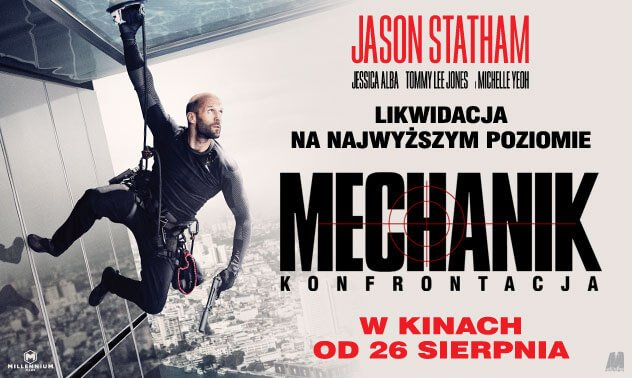 Plakat filmu Mechanik Konfrontacja