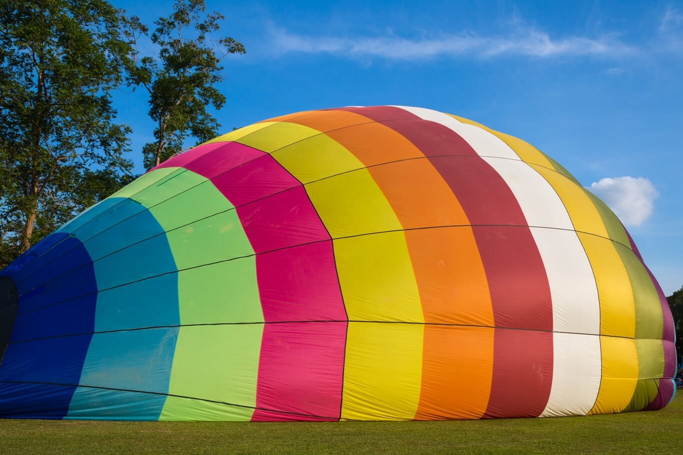 kolorowy balon nagorące powietrze
