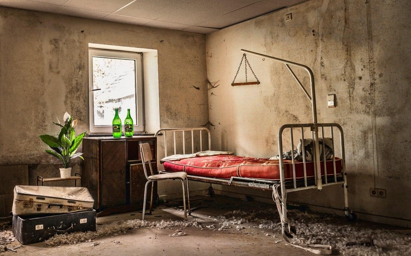 stylizowany pokój w escape room