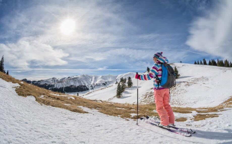 wyprawa na nartach