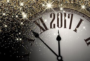 zegar odmierzający czas do nowego roku