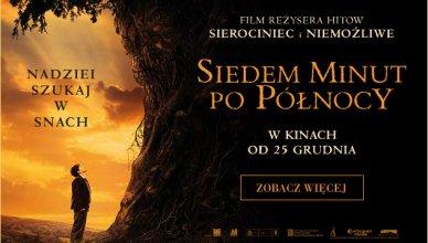 plakat z filmu siedem minut po północy