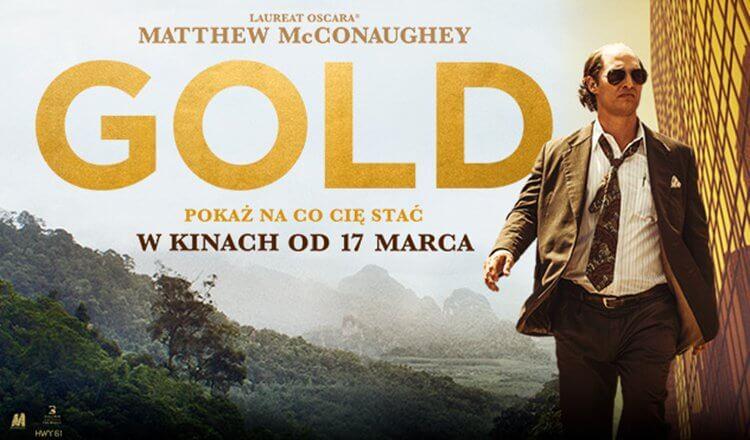 plakat z filmu gold