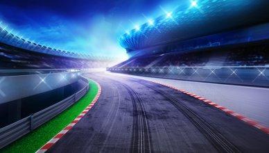 wizualizacja toru wyścigowego