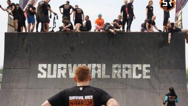 bieg z przeszkodami survival race