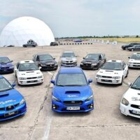 samochody rajdowe subaru impreza i mitsubishi lancer evo IX