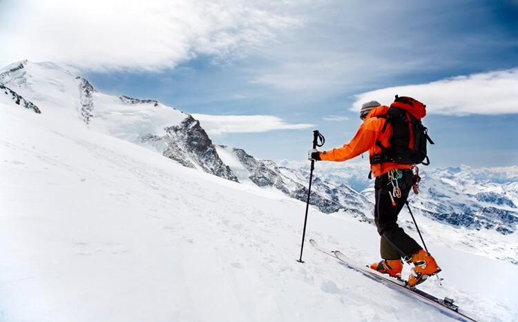 zimowa wspinaczka górska
