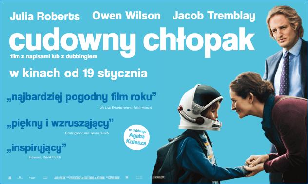 plakat filmu cudowny chłopak