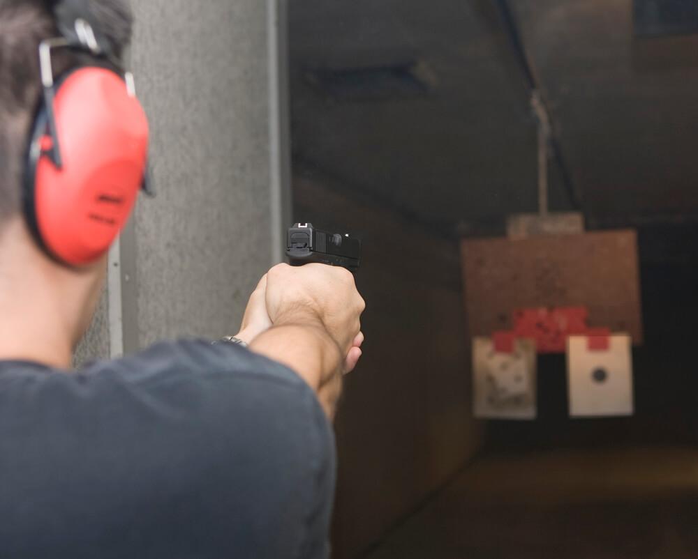 Strzelanie zbroni