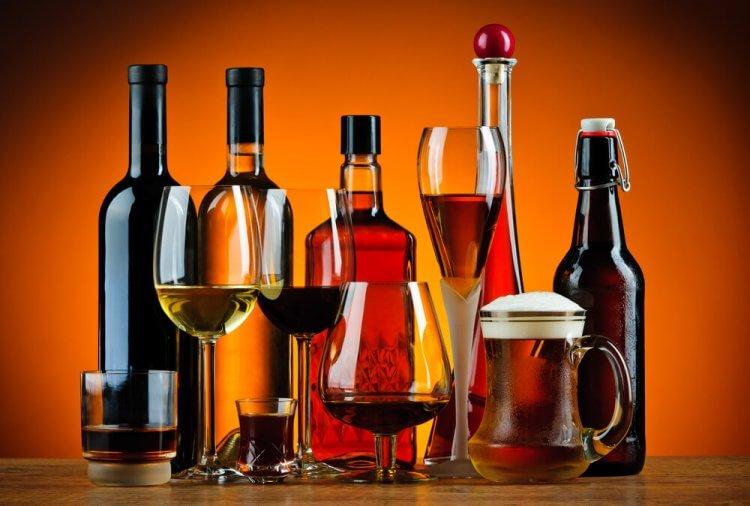 Piwo wino whisky