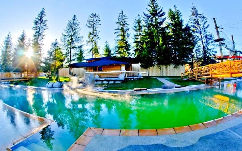 baseny w termach gorący potok