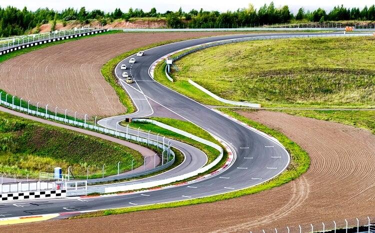 fragment toru wyścigowego