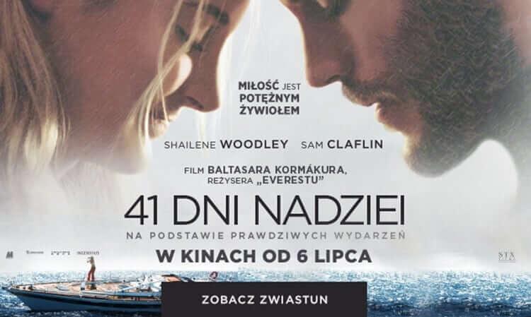 plakat z filmu 41 dni nadziei