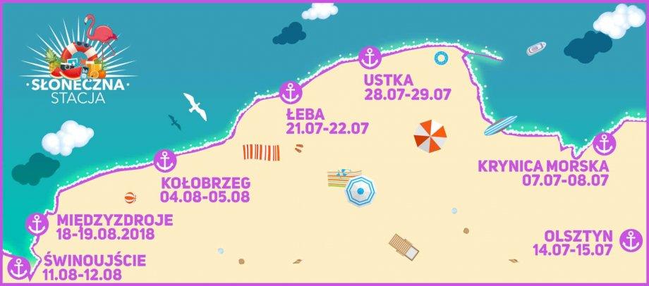 mapa imprez słoneczna stacja polsatu 2018