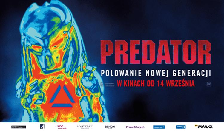 plakat z filmu predator 2018