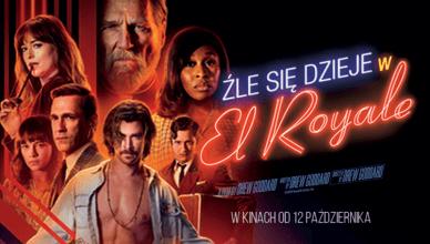 źle się dzieje w el royale plakat do filmu