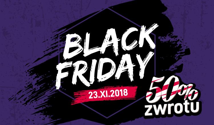 black friday promocja online 50% zwrotu w prezentmarzen.com