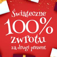 Świąteczna promocja w Prezentmarzeń! 100% zwrotu na drugi prezent