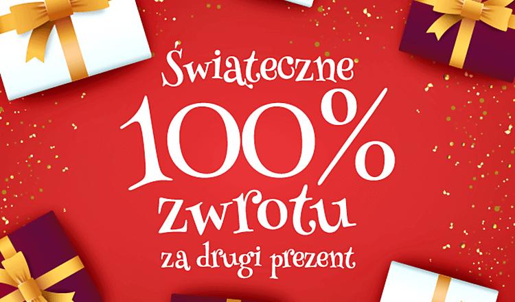 świąteczna promocja 2018 prezentmarzeń 100% zwrotu