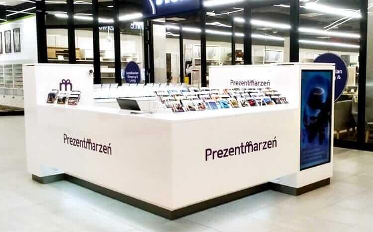 punkt stacjonarny prezentmarzeń w galerii nowa stacja pruszków