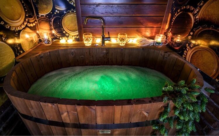 kąpiel w piwie dla dwojga zakopane