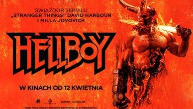 plakat z filmu hellboy (2019) w kinach od 12 kwietnia