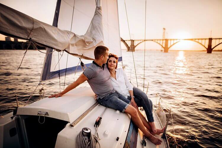 wieczorny romantyczny rejs dla par
