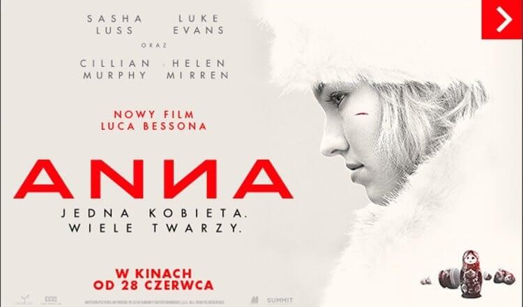 plakat z filmu ANNA 2019