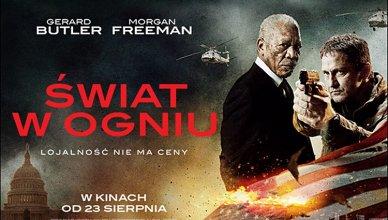 plakat z filmu świat w ogniu premiera 23 sierpnia 2019