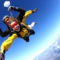 skok ze spadochronem w tandemie