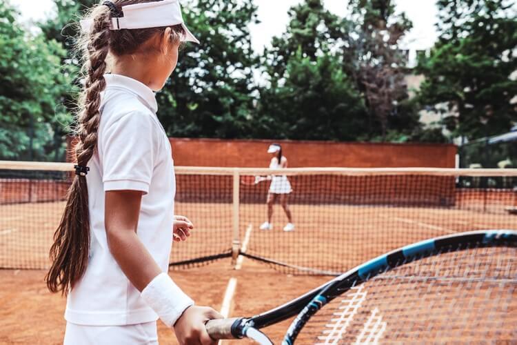 nauka gry w tenisa dla dzieci