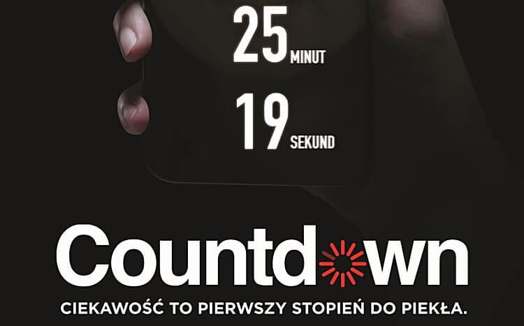 plakat z filmu countdown