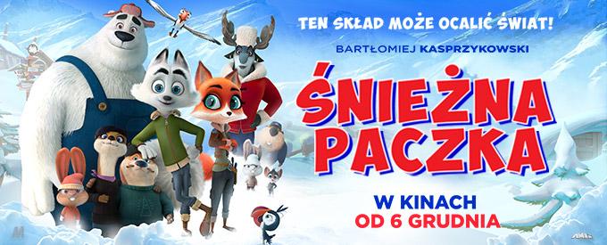 plakat z filmu śnieżna paczka