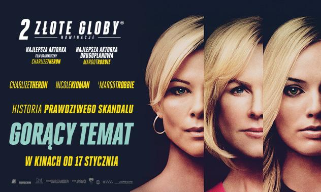 plakat z filmu gorący temat