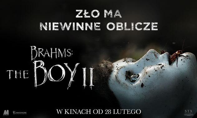 plakat z filmu brahms: the boy II