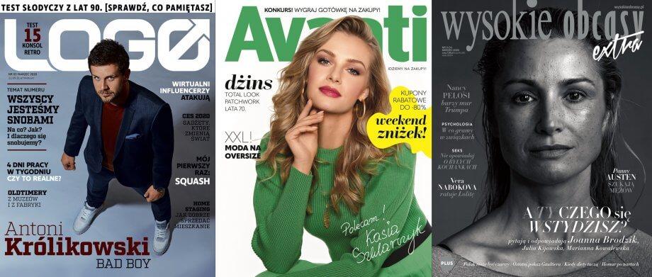 magazyny biorące udział wakcji weekend zniżek avanti