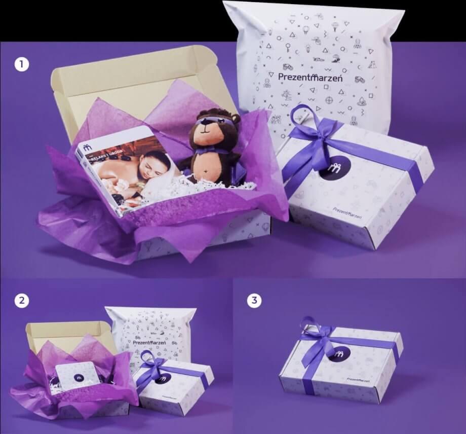 opakowanie prezentowe prezentmarzeń
