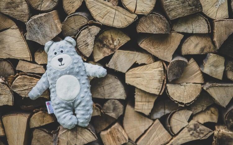 feel  bear maskotka dla dzieci zgłosem mamy, babci