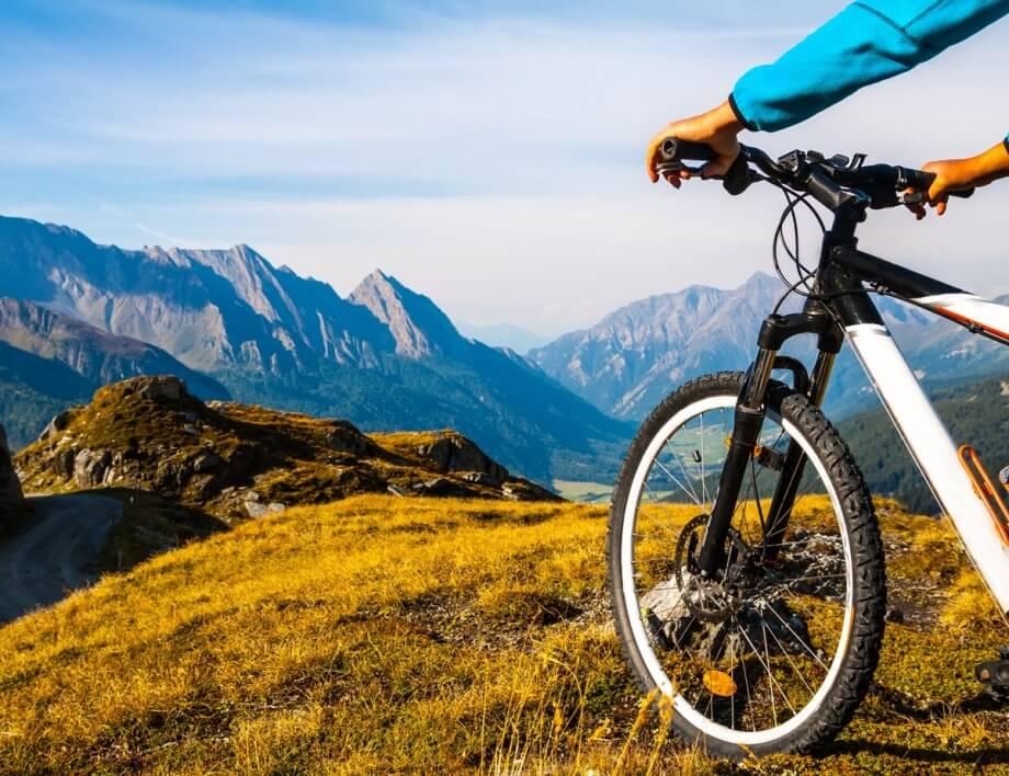 rower wgórach