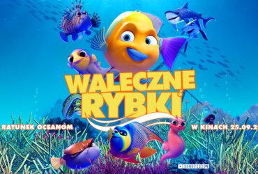 waleczne rybki plakat z filmu