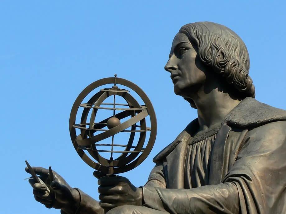 Pomnik Mikołaja Kopernika wWarszawie